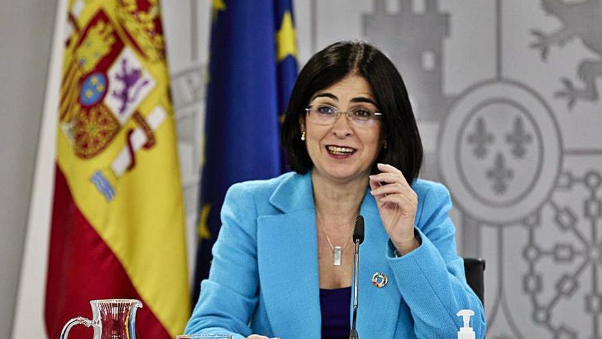 Sanidad decidirá la semana próxima sobre la segunda dosis de AstraZeneca