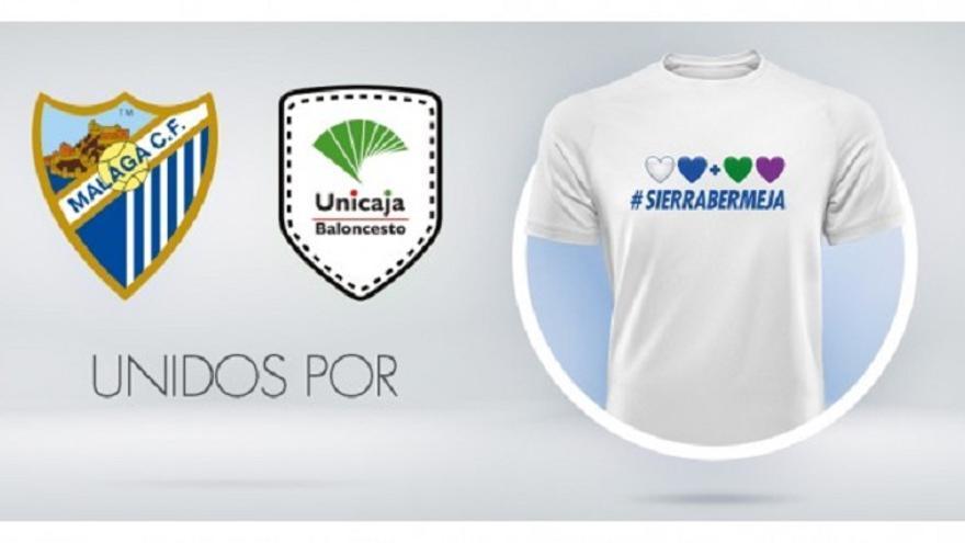 El Málaga CF y el Unicaja se unen por Sierra Bermeja