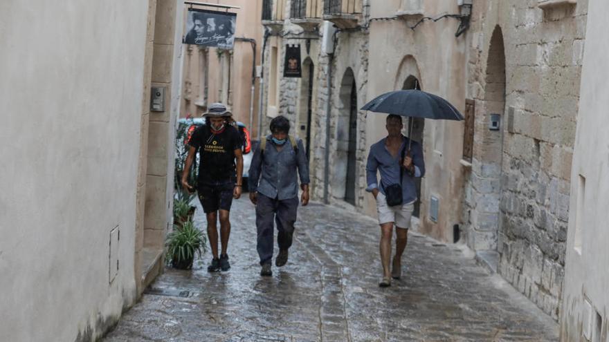 Las lluvias llegarán hoy a Ibiza y Formentera