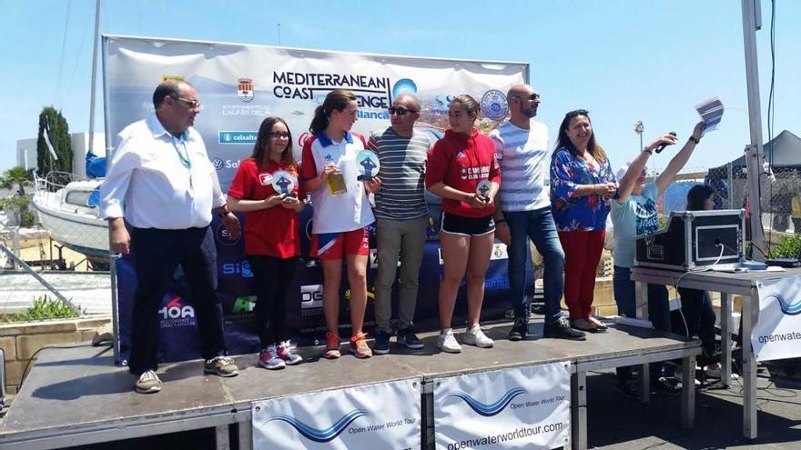 763 nadadores se dieron cita en la bahía de Altea
