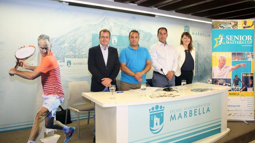 Marbella volverá a acoger el torneo de tenis Senior Masters Cup