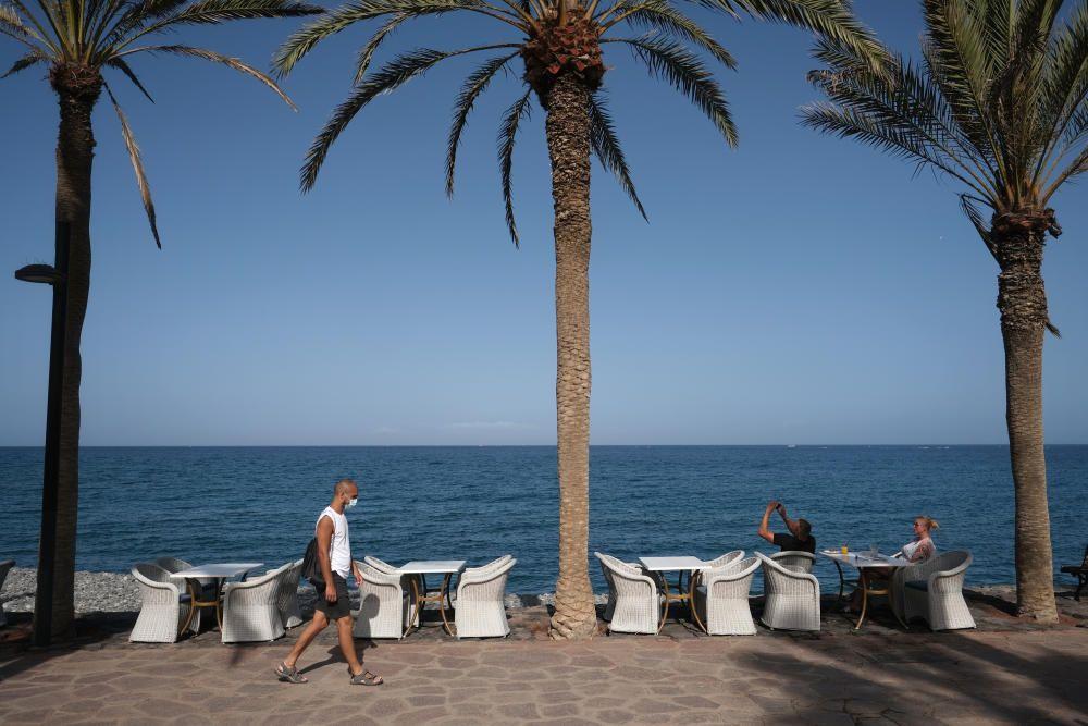 El sur de Tenerife vacío