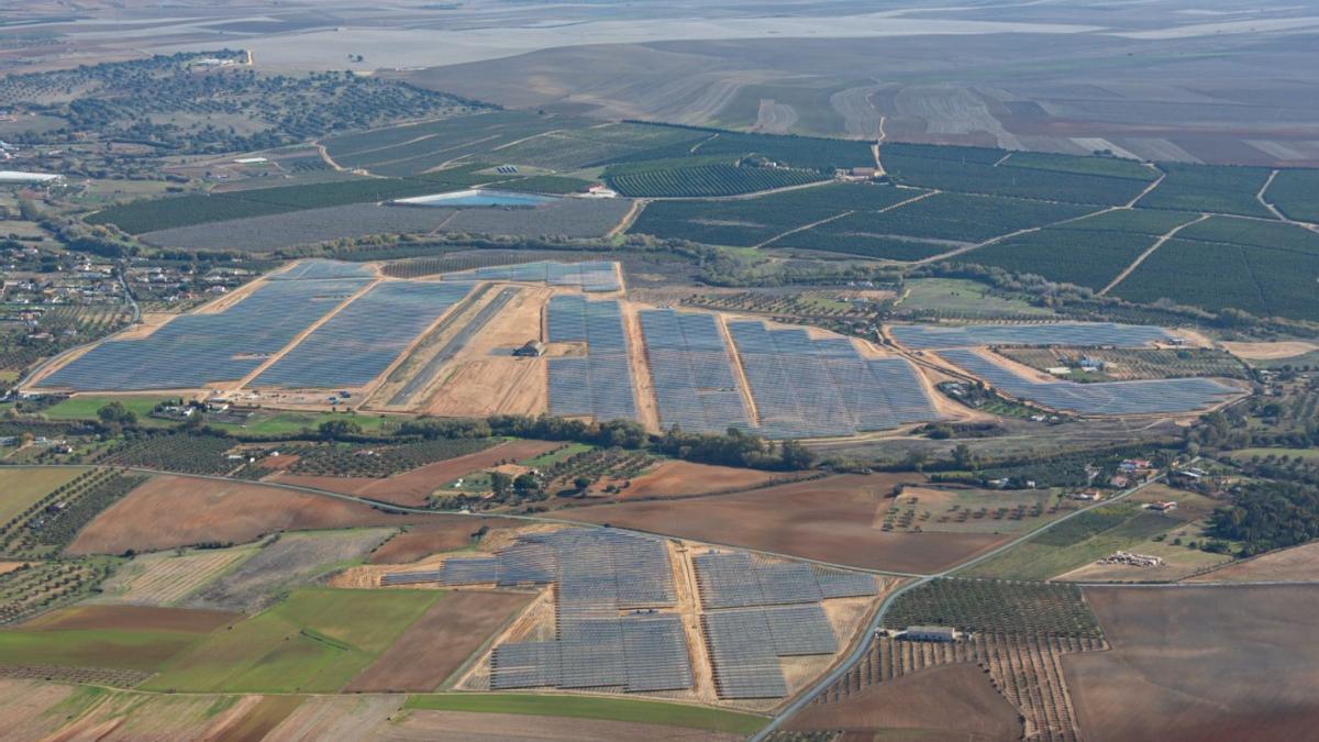 Uno de los parques fotovoltaicos que tiene Alter Enersun en una foto de archivo.