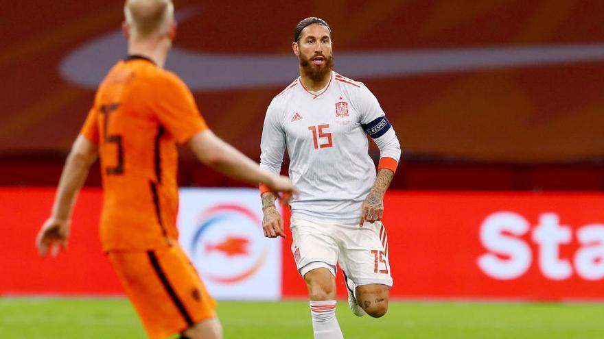 Ramos, el europeo con más partidos internacionales