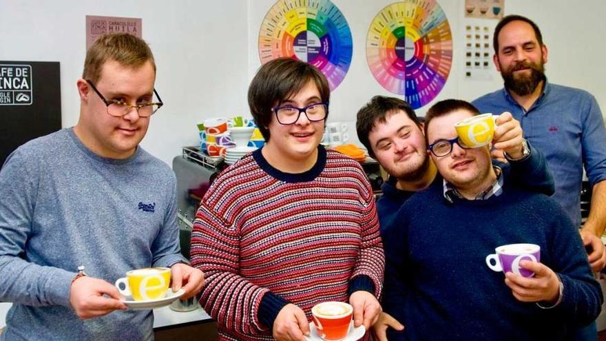 'Down Café', el proyecto coruñés para promover la inserción laboral