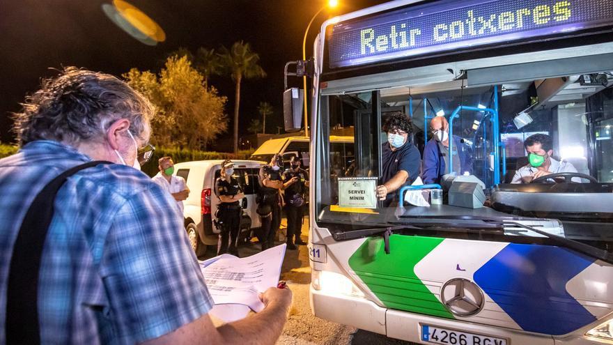 Importantes retrasos en el segundo día de huelga de autobuses