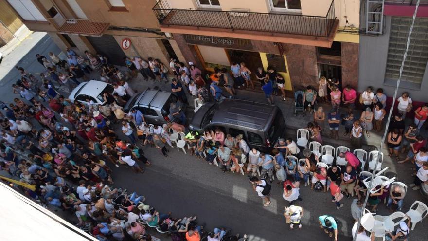 Protesta de l'Associació Pro Disminuïts del Berguedà