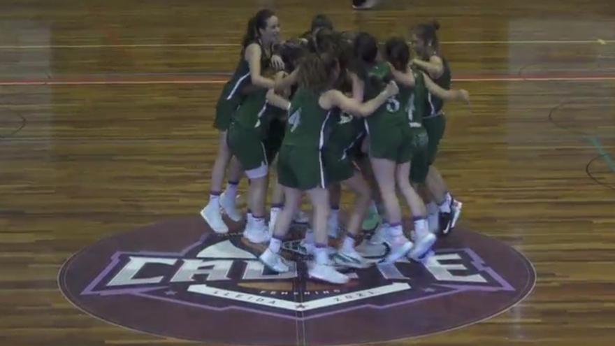 El Unicaja femenino pasa a cuartos de final en el Campeonato de España cadete