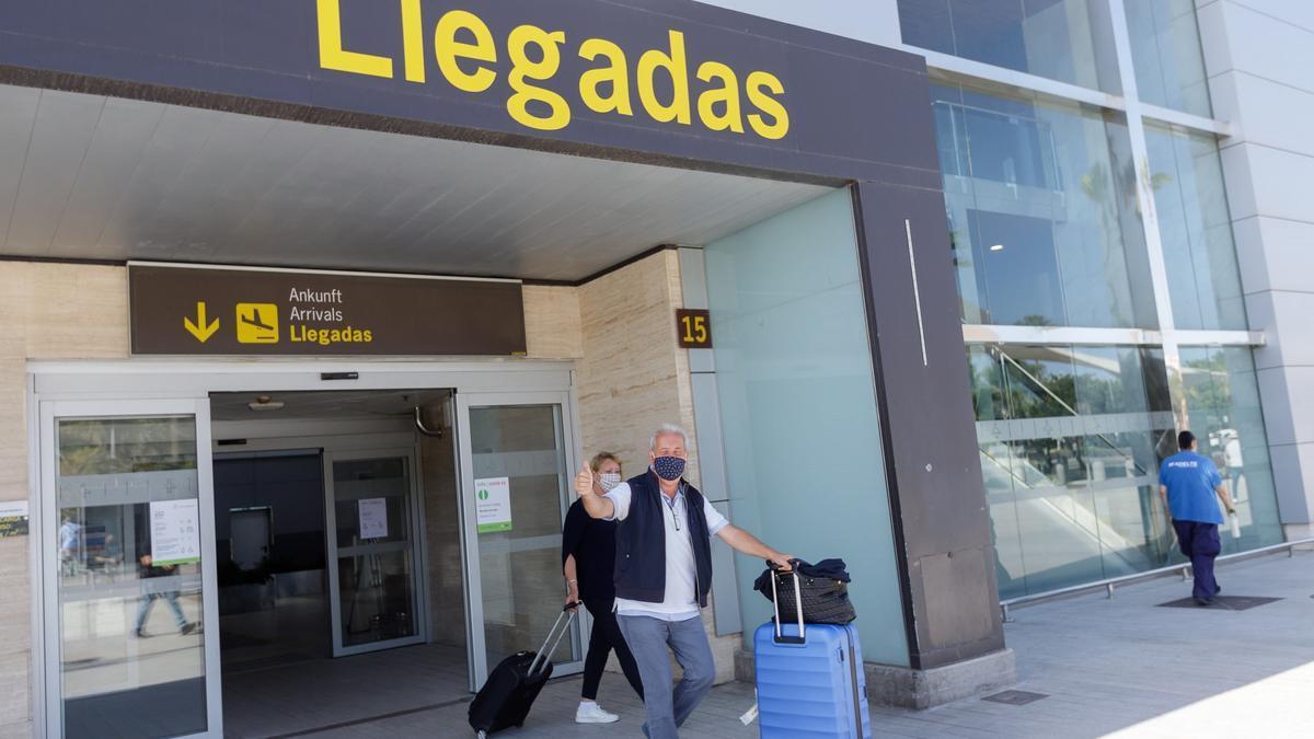 Imagen de un aeropuerto en Tenerife.