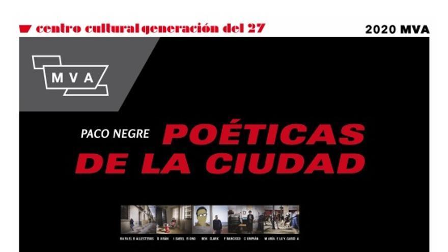 Exposición fotográfica poéticas de la ciudad, de Paco Negre.