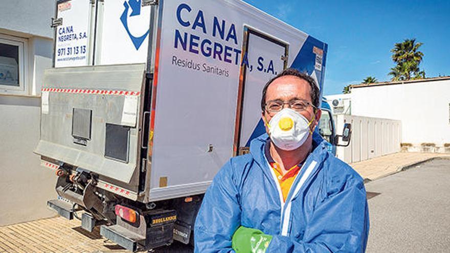 José Luis Custodio: «Los sanitarios me llaman compañero»