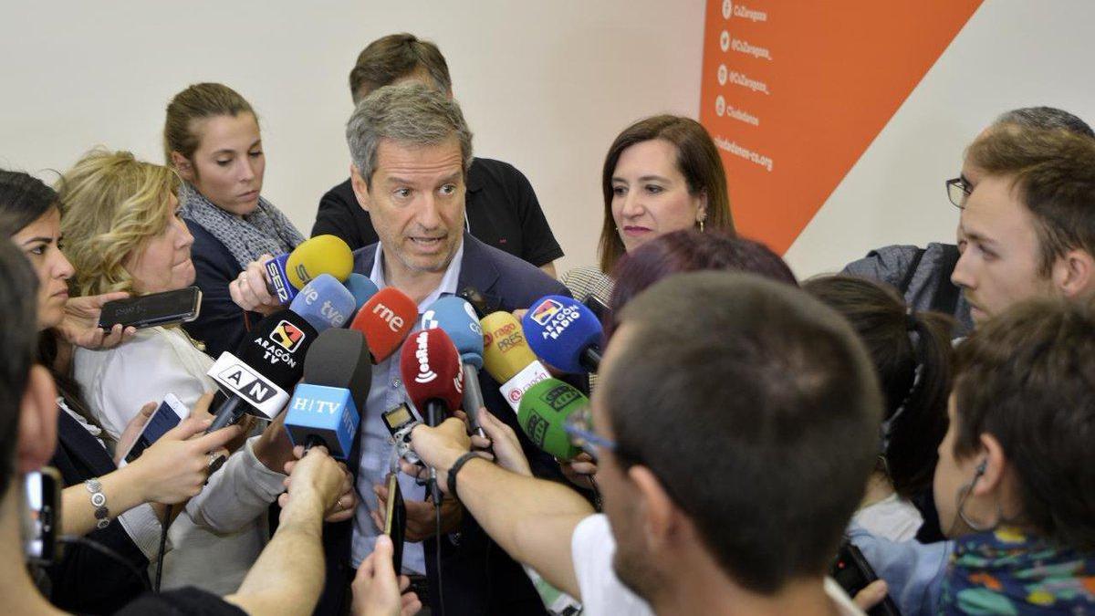 PSOE y PP intentan seducir a Cs para gobernar Zaragoza y Aragón