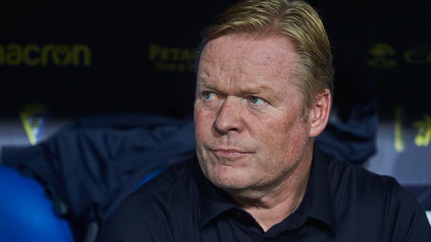 Koeman, expulsado dos partidos y De Jong, uno