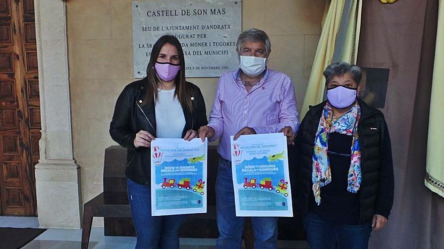 Campaña solidaria de recogida de juguetes para la Navidad en Andratx