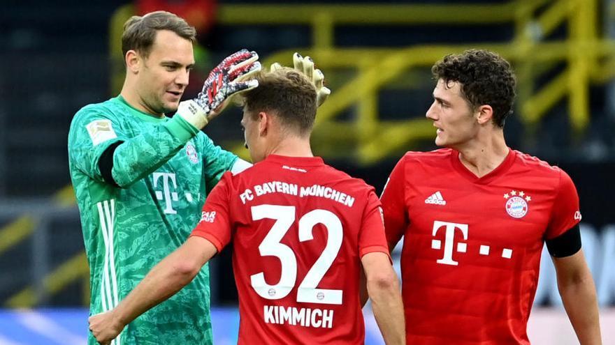 El Bayern gana el clásico de Dortmund y se acerca al título