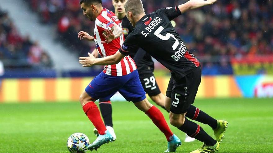 Morata da la victoria al Atlético en un partido plano ante el Bayer Leverkusen