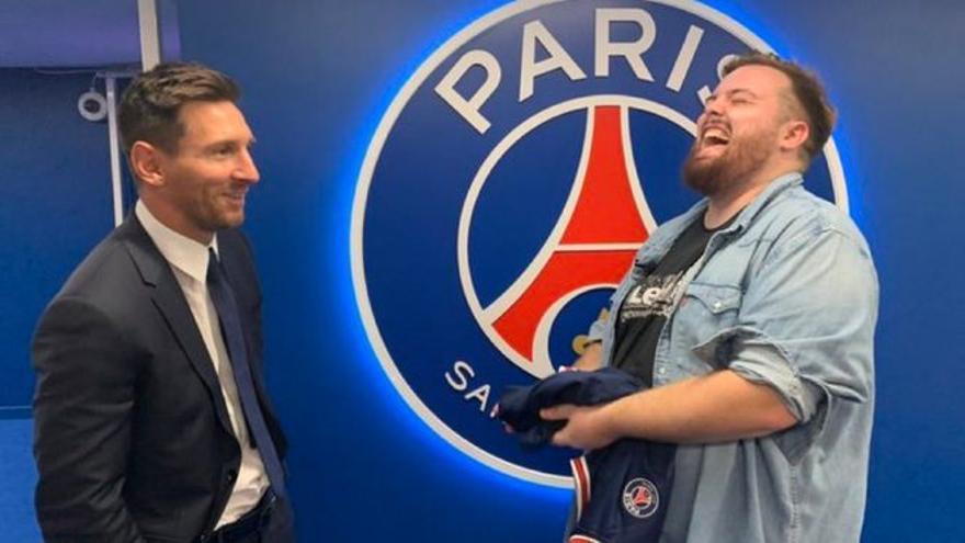 El nuevo pelotazo de Ibai Llanos: consigue la primera entrevista con Messi tras su fichaje por el PSG
