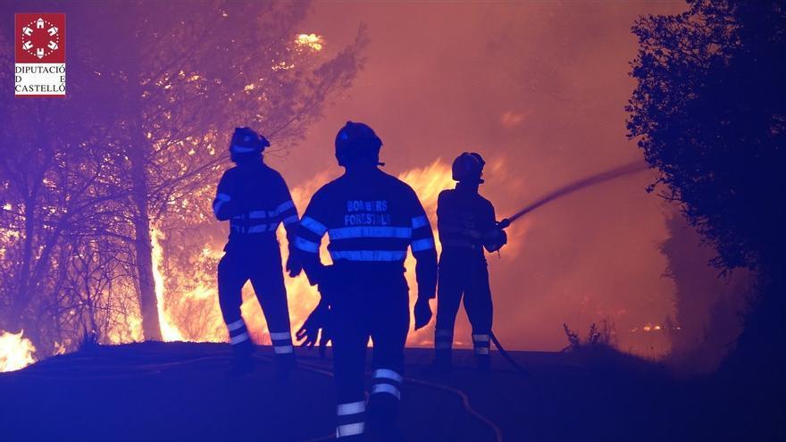 Los bomberos de Castellón intervienen en 21 incendios durante la ola de calor