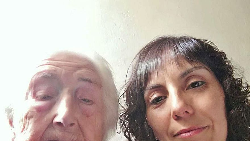 Gregoria Valdés Martín celebra su 105 cumpleaños en Quintanilla  del Monte