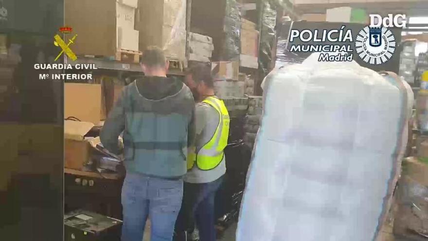 Vídeo | La Guàrdia Civil deté 8 membres d'un grup criminal que robava mercaderia de camions