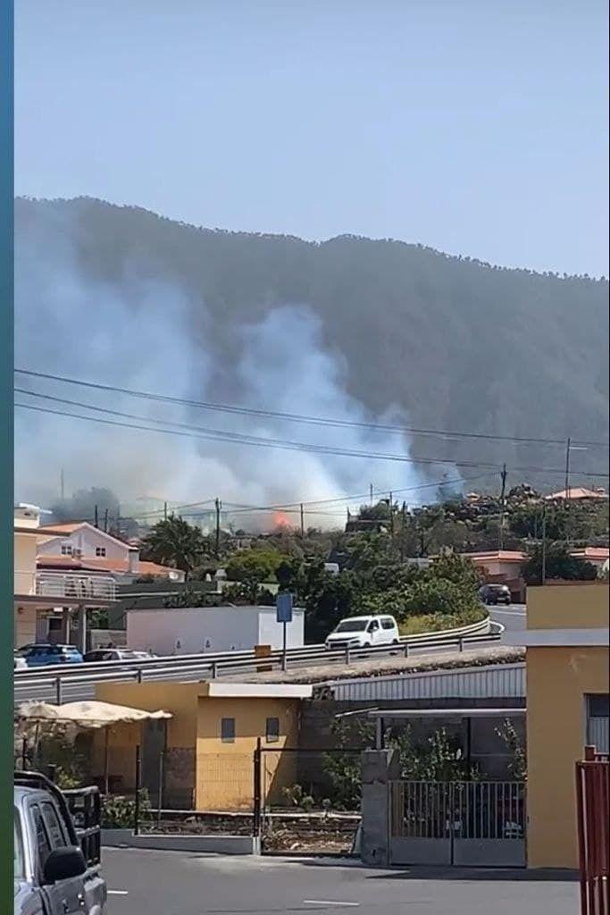 Incendio en El Paso, La Palma