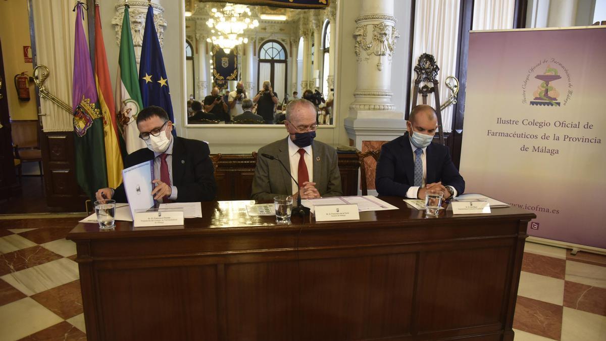Acuerdo Colegio de Farmacéuticos y la Fundación España Salud
