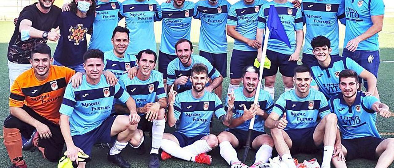 El Rafelguaraf es nuevo equipo de Primera Regional.   RUBÉN GARCÍA