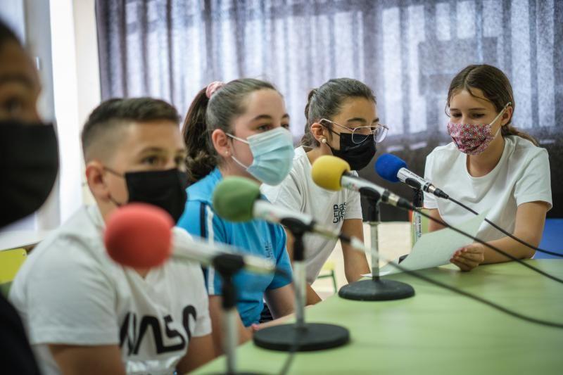 Reportaje Radio Escolar en el CEIP Las Retamas
