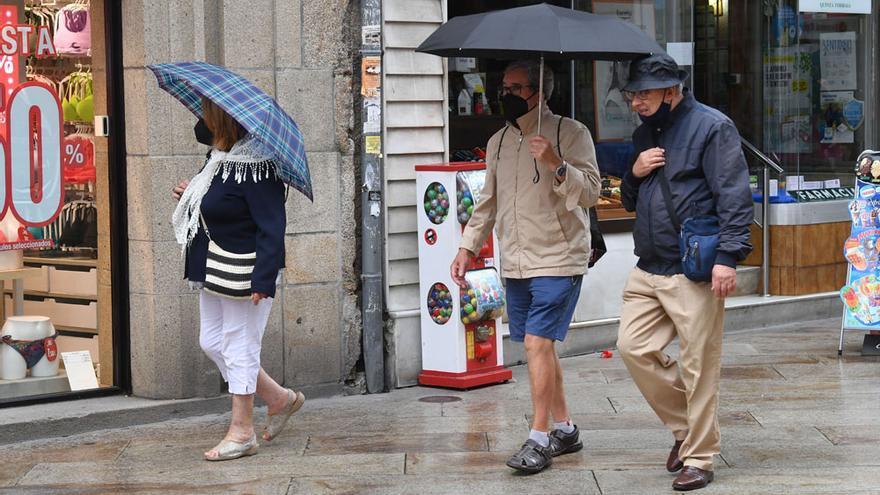 Galicia espera nubes y chubasos este miércoles