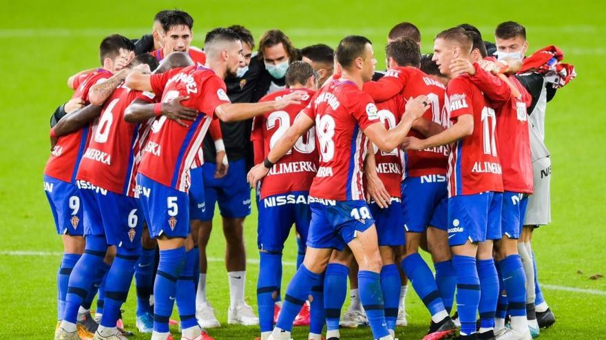 El Sporting pone a prueba su liderato en el derbi asturiano