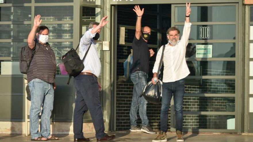 El Suprem anul·la el tercer grau dels nou presos independentistes