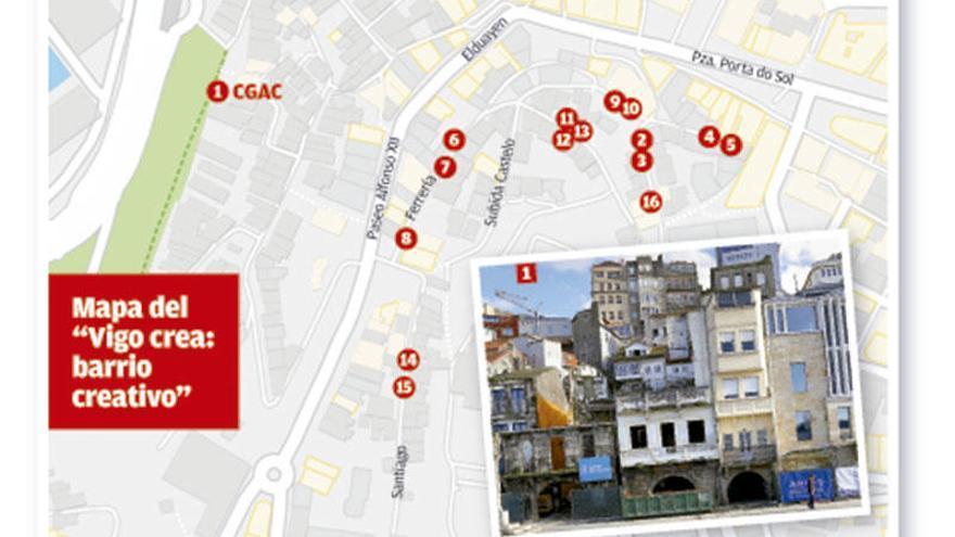 """La sede del CGAC y el Casco Vello """"creativo"""", en punto muerto"""