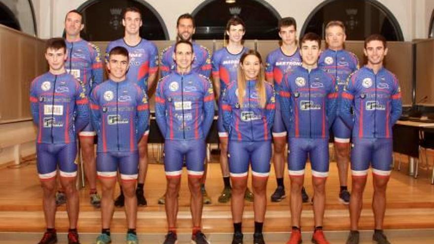 Presenten el nou equip de duatló de la UC Lluçanès