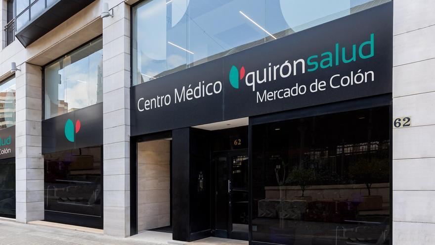 Quirónsalud abre un nuevo centro médico con más de 25 especialidades médicas en el corazón de la ciudad de Valencia (Mercado de Colón)