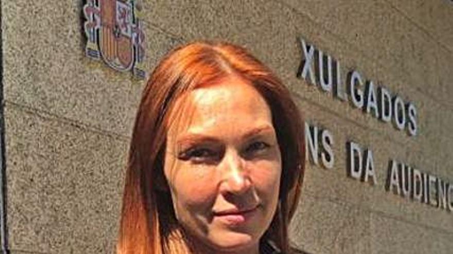 La actriz Silvia Fominaya demanda a su exmarido por el régimen de visitas a una hija
