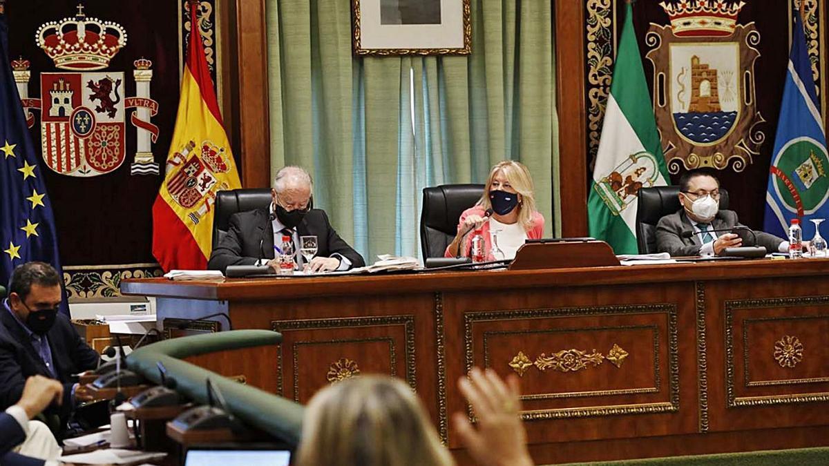 Sesión plenaria de final de septiembre en el Ayuntamiento de Marbella.