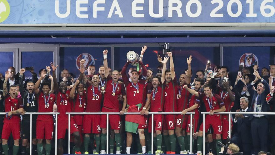 Historia de la Eurocopa: 2016, Portugal y Cristiano Ronaldo se sacaron la espina clavada