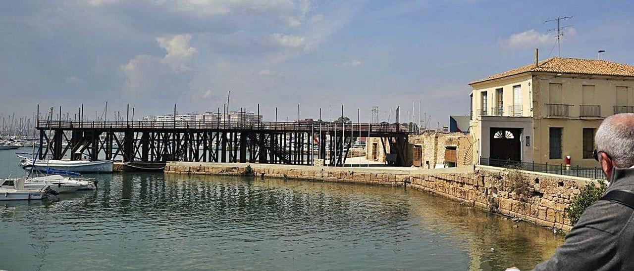 Imagen del recinto histórico de las Eras de la Sal en Torrevieja.