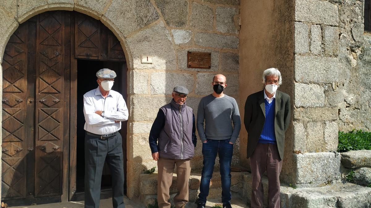 Los cuatro campaneros de Monumenta de Sayago
