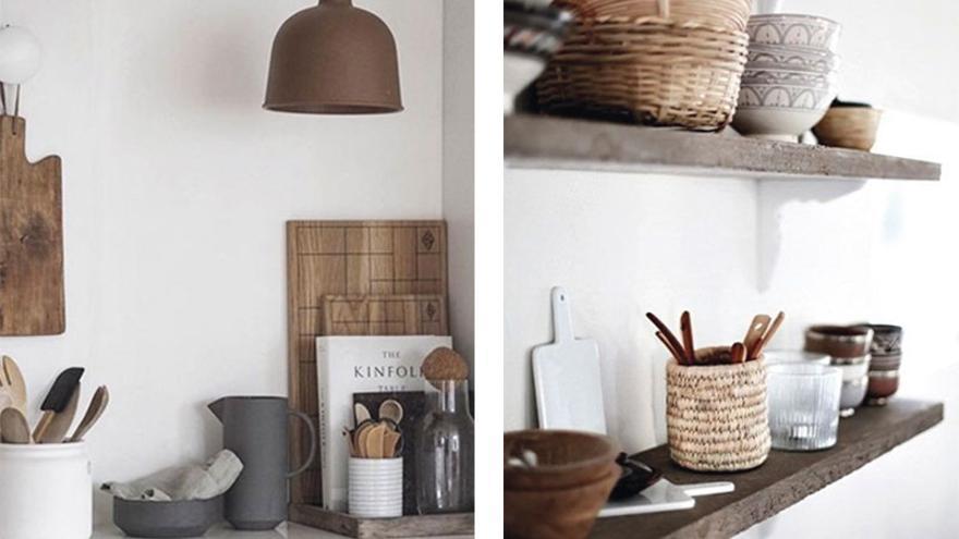 Cocinas pequeñas y ordenadas