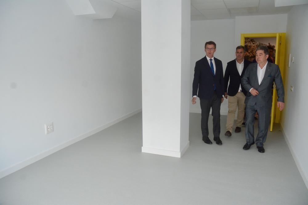 Así luce el renovado edificio de Benito Corbal