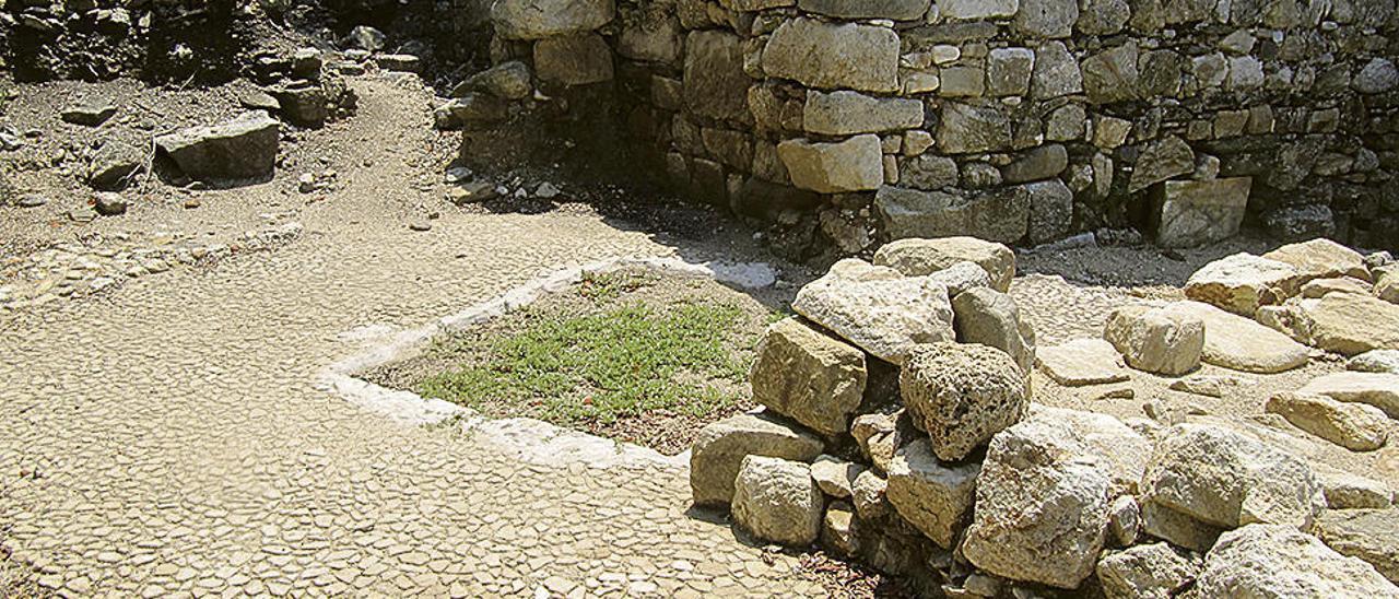 La tumba de Aristóteles.