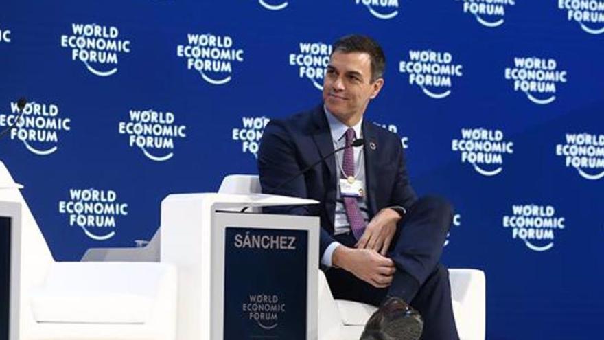 Pedro Sánchez será ponente en el próximo Foro de Davos