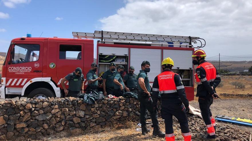 Simulacro CANASAR2021 en Lanzarote