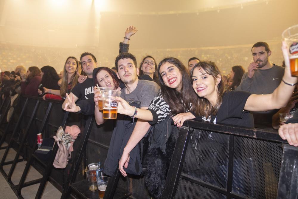 Concierto de Marea en el Coliseum