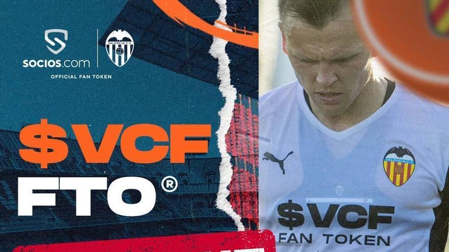 Los tokens del Valencia CF se agotan... ¡en dos horas!