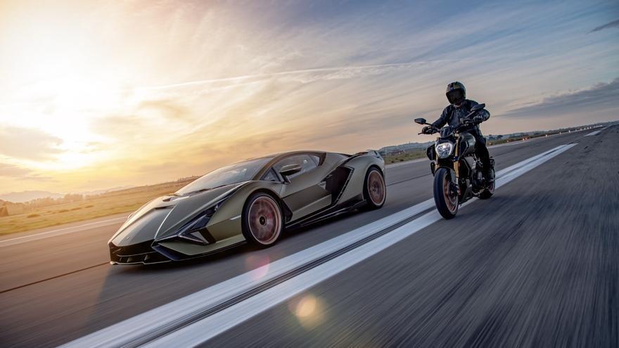 Ducati Diavel 1260 Lamborghini, una edición limitada inspirada en el Sián FKP 37