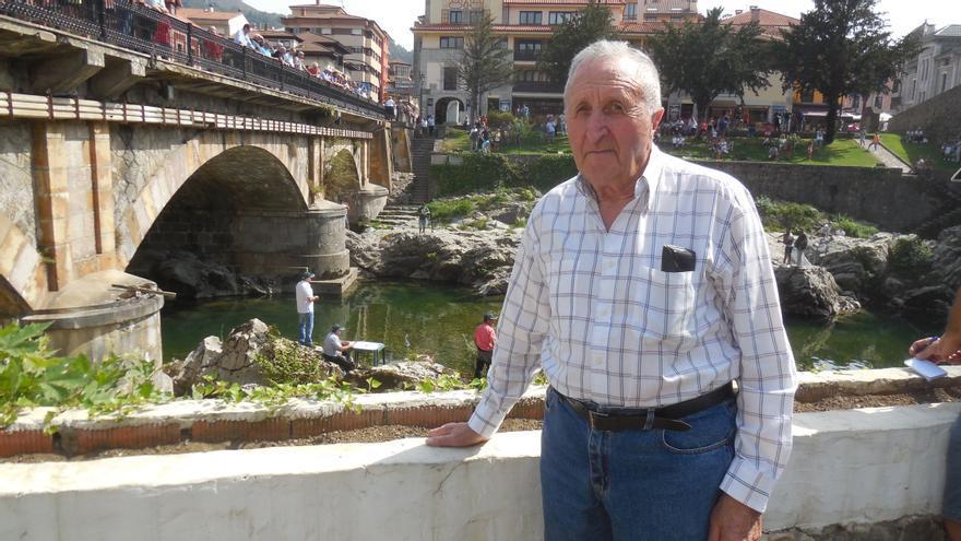 Adiós a un gran pescador de salmones en el Sella: José García Laria