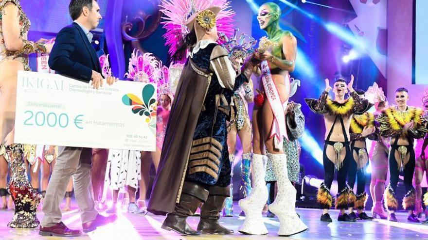 Sethlas, Drag Queen del Carnaval de Las Palmas de Gran Canaria