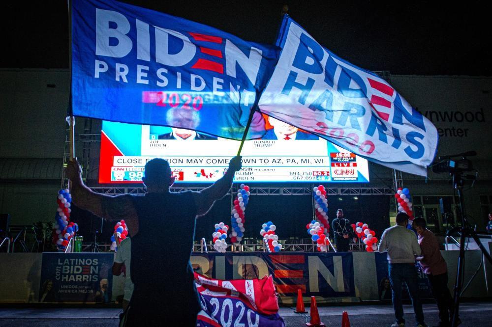 La jornada electoral de EEUU 2020, en imágenes.